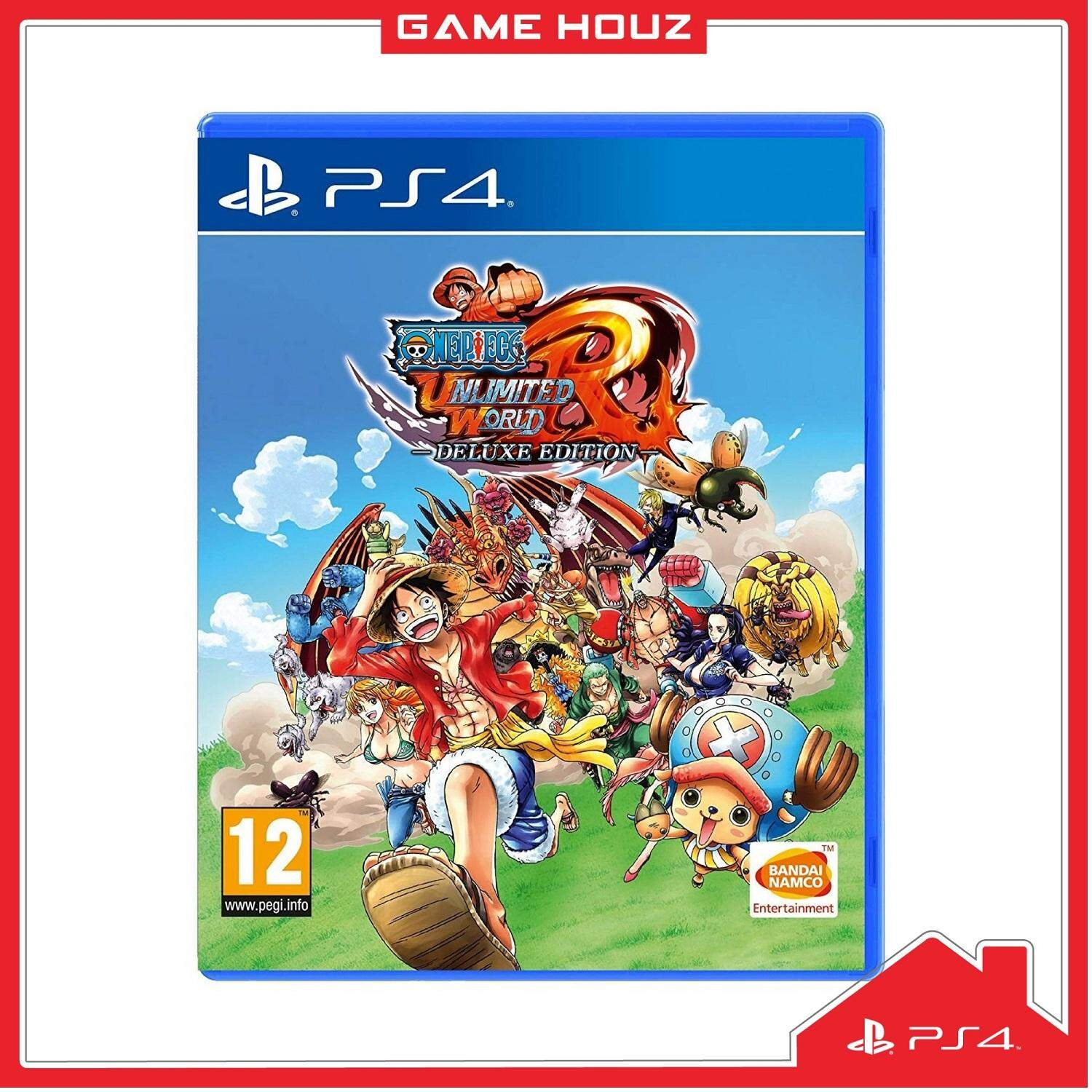 (PS4) One Piece Unlimited World Red: Deluxe Edition (R2/ENG)