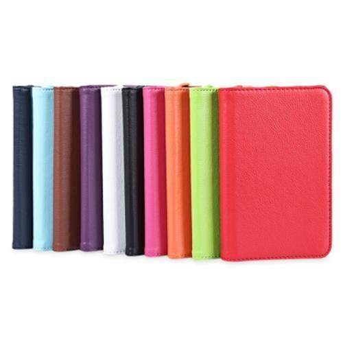 PU LEATHER 360 DEGREE ROTATING SMART FOLIO CASE FOR SAMSUNG GALAXY TAB 3 LITE 7.0 T110 / T111 / T113 / T116 (GREEN)