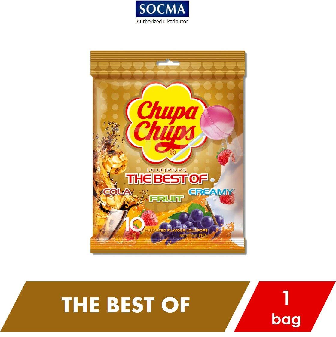Chupa Chups Classic Best Of Cola Fruit Creamy 11g X 10s [1]