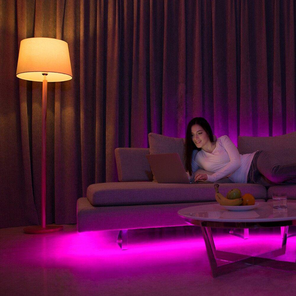 Lighting - WIFI Connected RGB Intelligent Strip Light Kit (YLDD04YL Version) 2 M - Home & Living