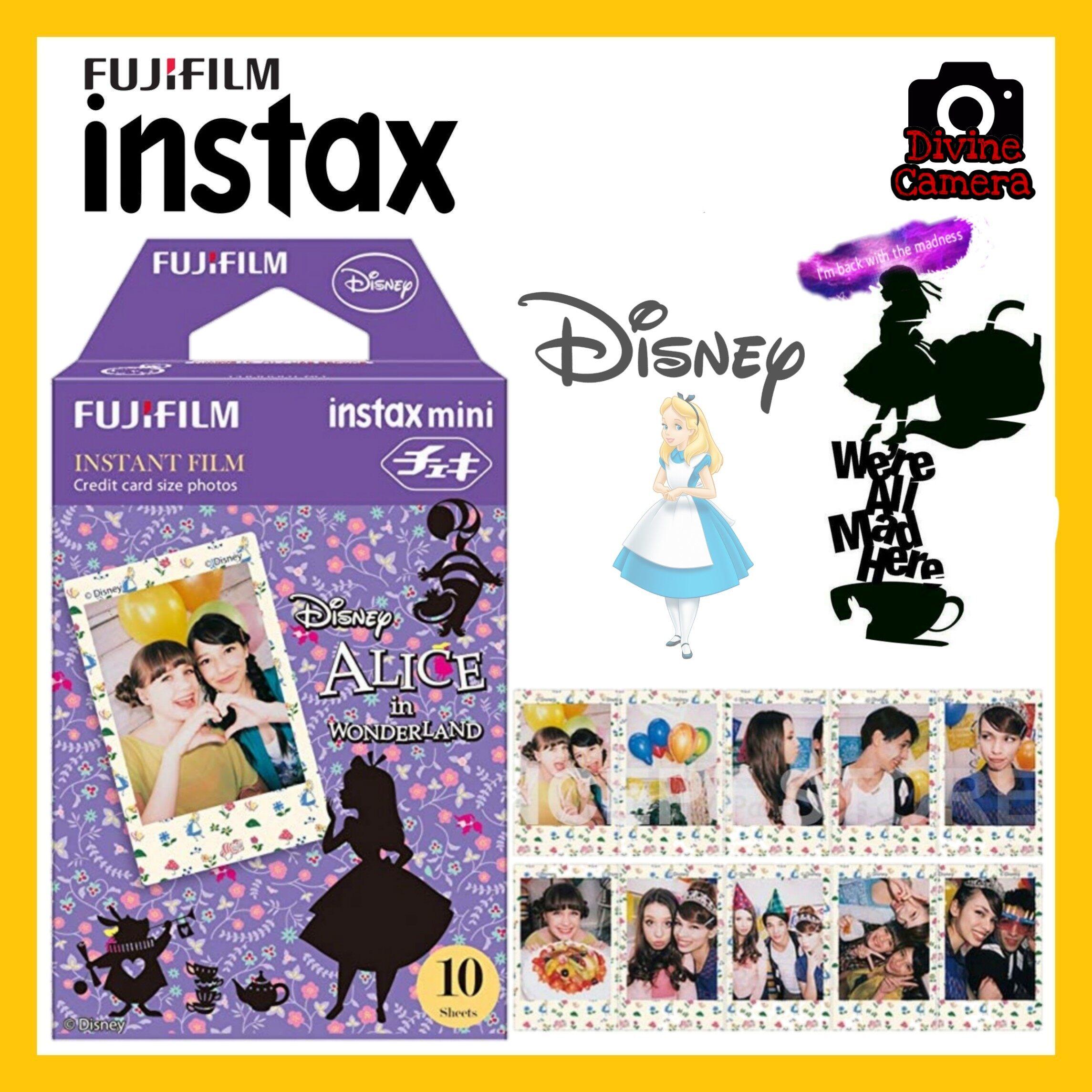 FUJIFILM INSTAX Mini Disney\'s Alice in the Wonderland Instant Film (10 Sheets)