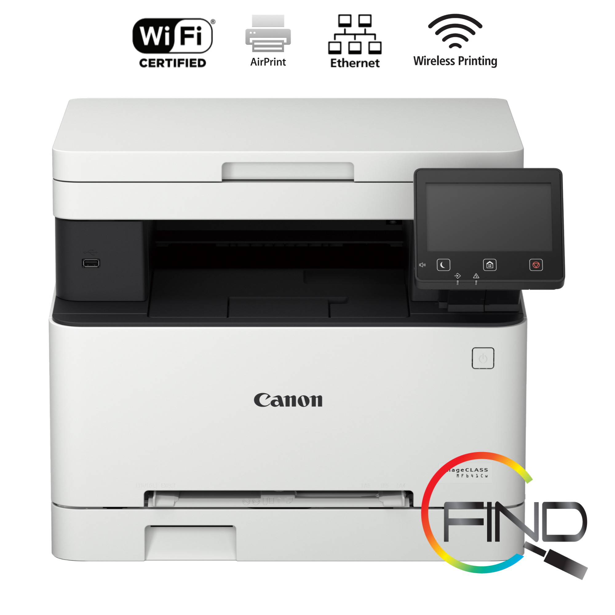 CANON imageCLASS MF641Cw Compact and Efficient 3-in-1 Colour Multifunction Laser Printer