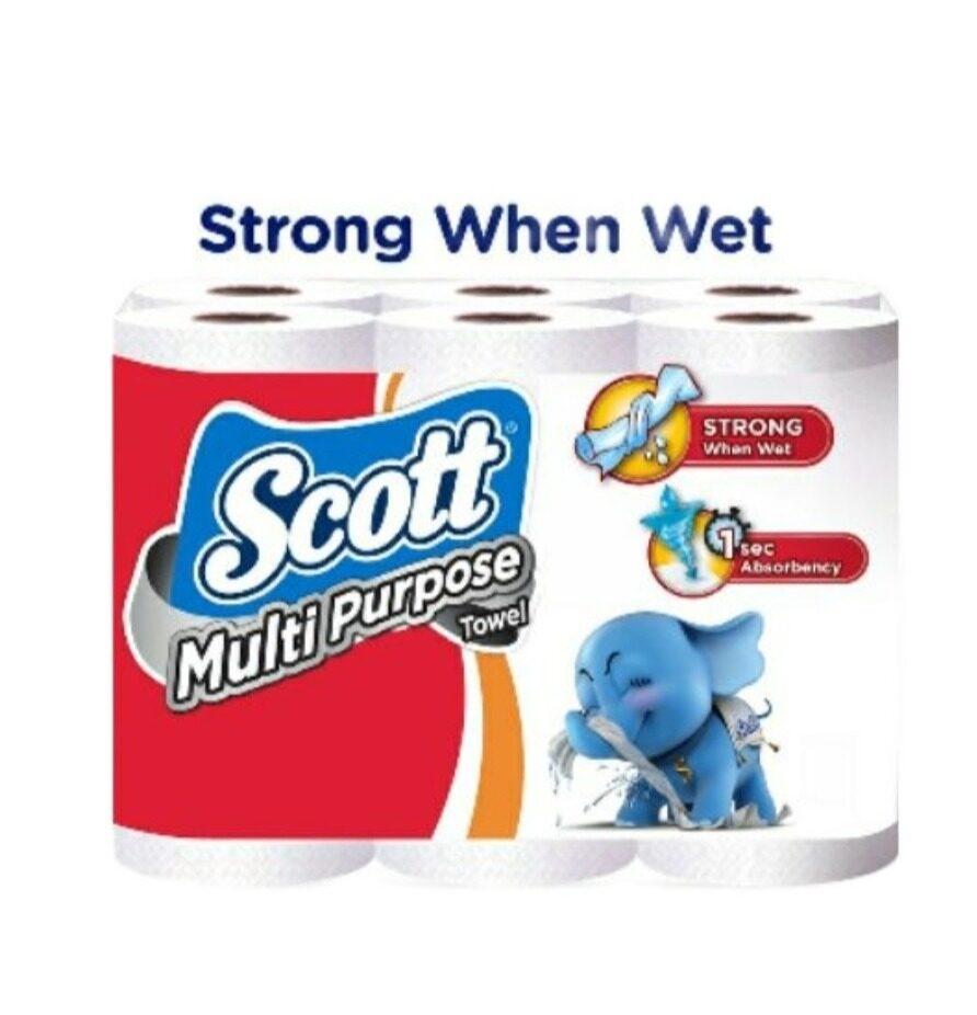 Scott Multi Purpose Kitchen Towel (60's x 6)