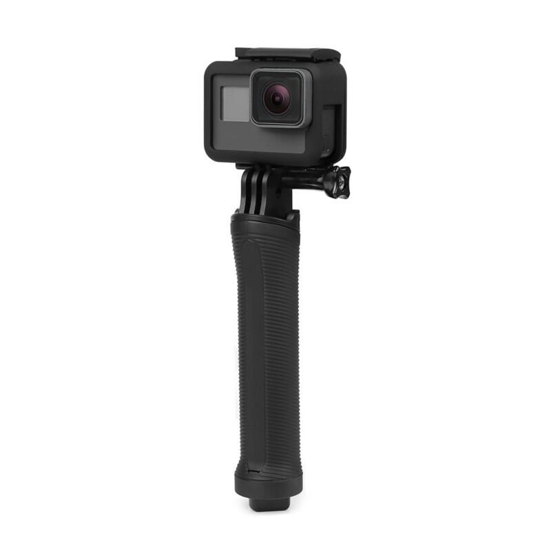 3 Way Grip Monopod Selfie Stick for Gopro Hero 5 4 3 SJ4000 Camera Tripod