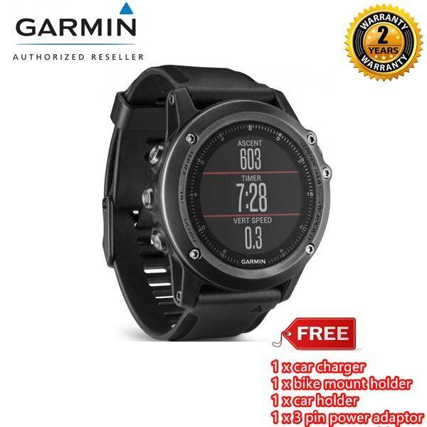 Fenix 3 Sapphire (Heart Rate Monitor NOT INCLUDED) (Garmin Malaysia) + Free Gift