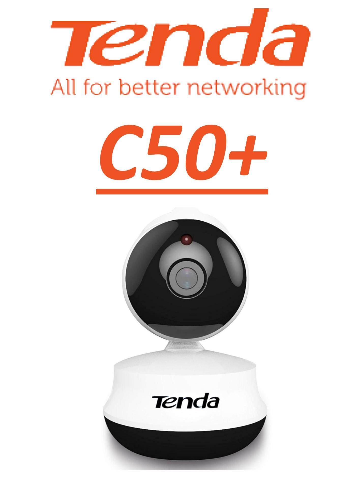 Tenda C50+ C50 Plus HD Wireless WiFi Pan/Tilt  IP Cloud Camera CCTV Baby Camera Mini Camera