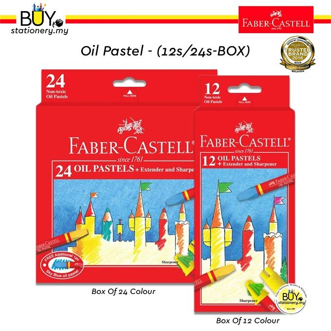 Faber Castell Oil Pastel 12s/24s - (BOX)