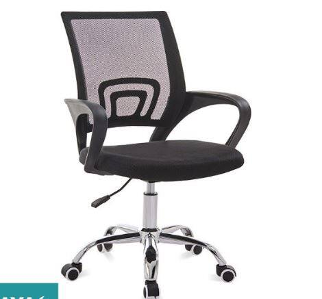 Adjustable Swivel Breathable Comfortable Mesh Office Chair With Metal Leg