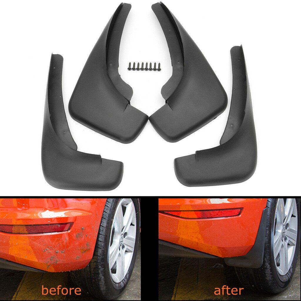 4 PIECE(s) Mud Flaps Splash Guard Mudguard Fender For 1998-2005 VW Golf Mk4 Jetta Bora - Automotive