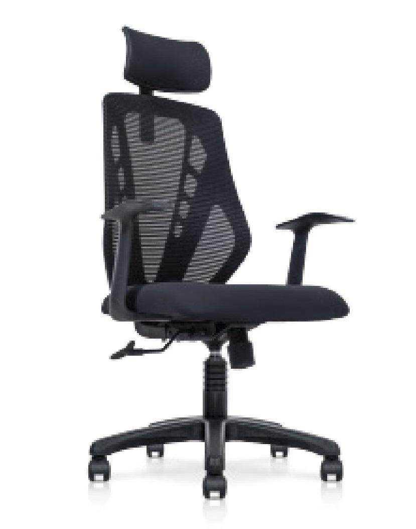 (Free Delivery Klang Valley) Asteria High Back Chair With Headrest (PU)