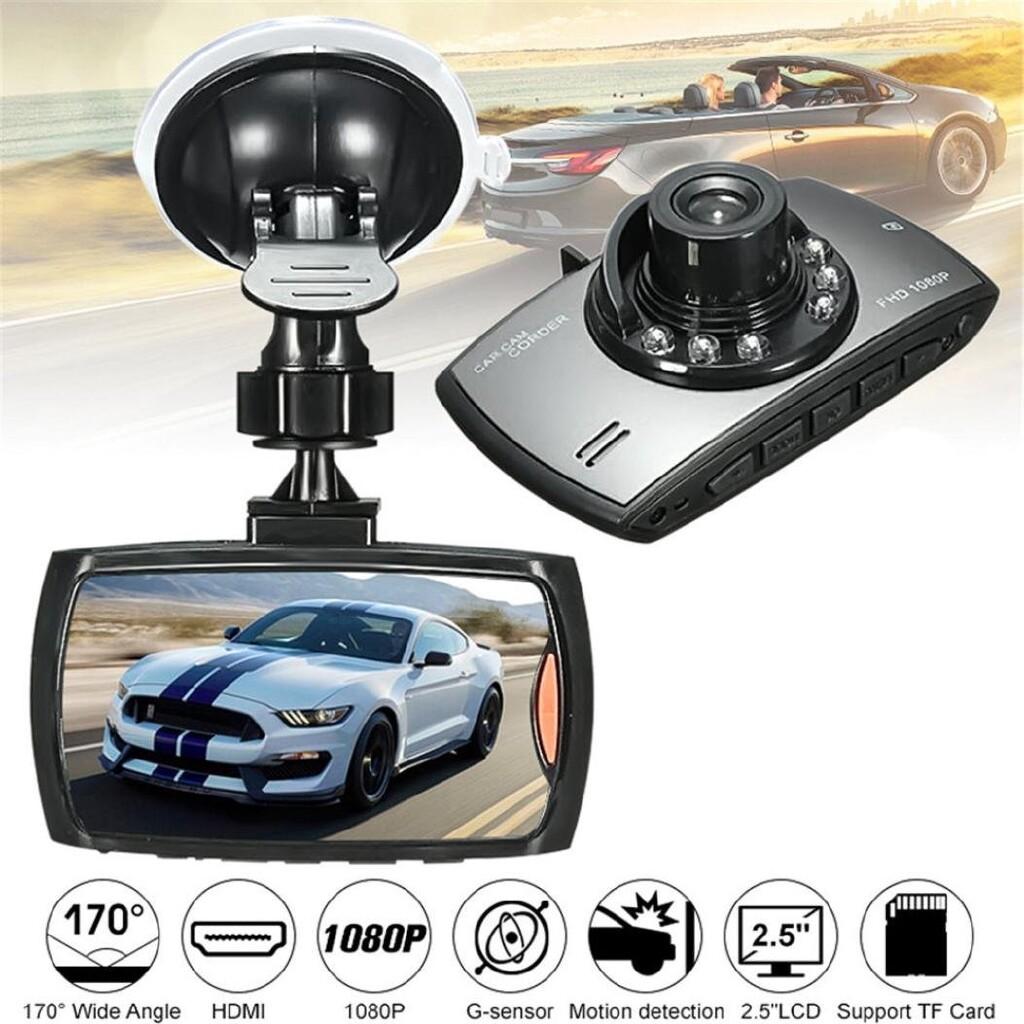 Vehicle GPS - 2.7\'\' 1080P HD 170 Camera Car Vehicle DVR Video Dash Cam Recorder Night Vision - Car Electronics