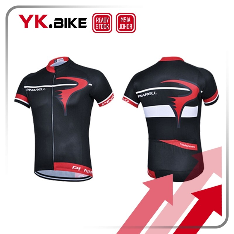 YKBIKE [LOCAL READY STOCK] Short Sleeve Cycling Jersey Bicycle Bike Short Pant Gel Pad MTB Cycling Bike Clothing Breathable APL104