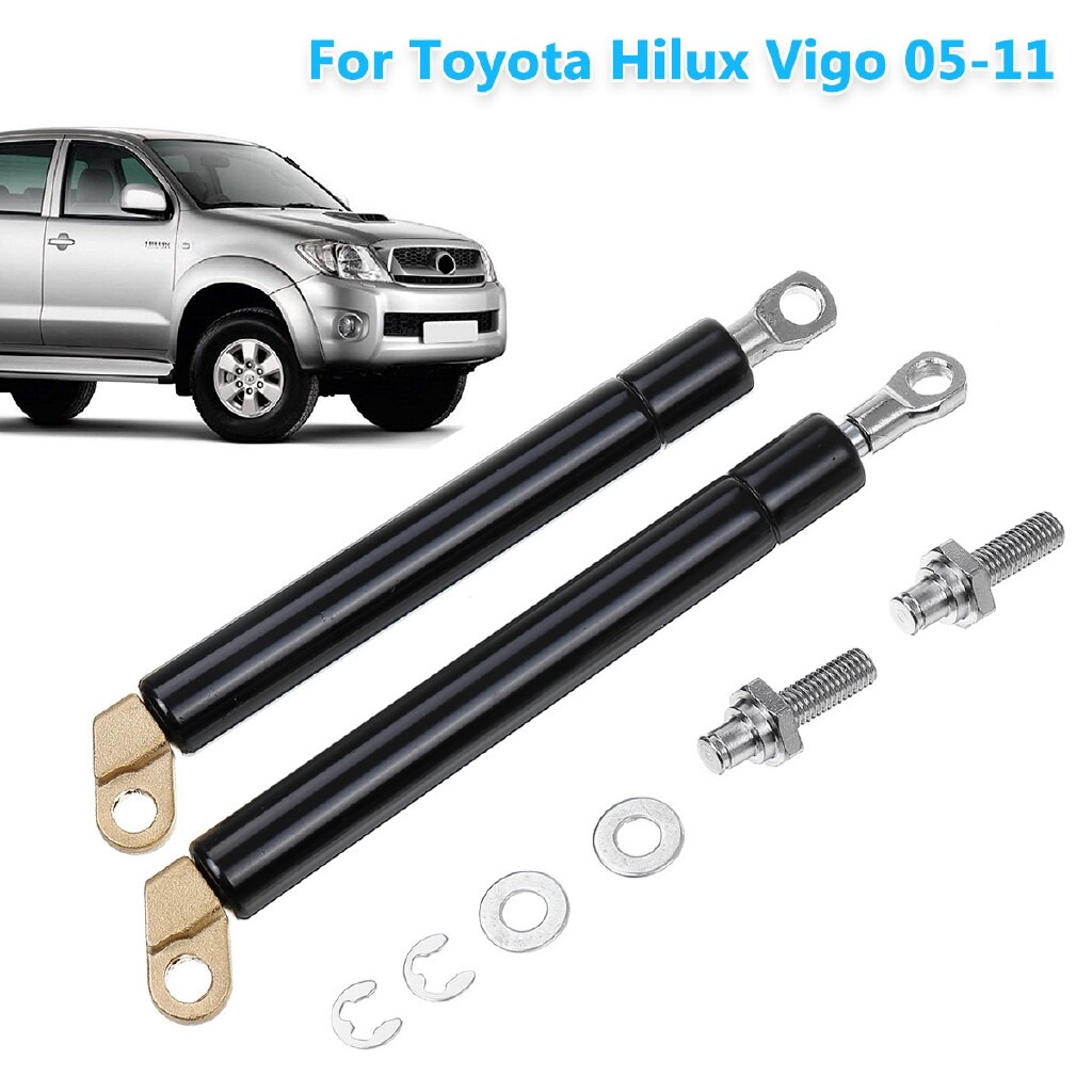 Specialty Lighting - Tailgate Strut Kit Rear Gas Strut Damper Slow Down For Toyota Hilux Vigo 2005-11