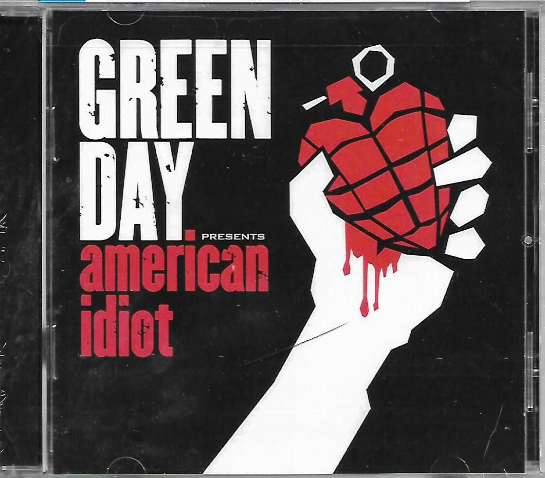 Green Day Presents American Idiot Imported CD Made In USA Parental Advisory Explicit Content