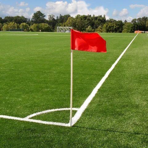 4's SOCCER/FOOTBALL  CORNER FLAG  x 1set