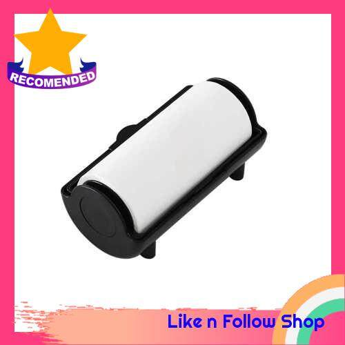 Nail Stamping Removing Tool Nail Oil Absorber Nail Tool for Nail Salon Home Use Roll Paper (Black)
