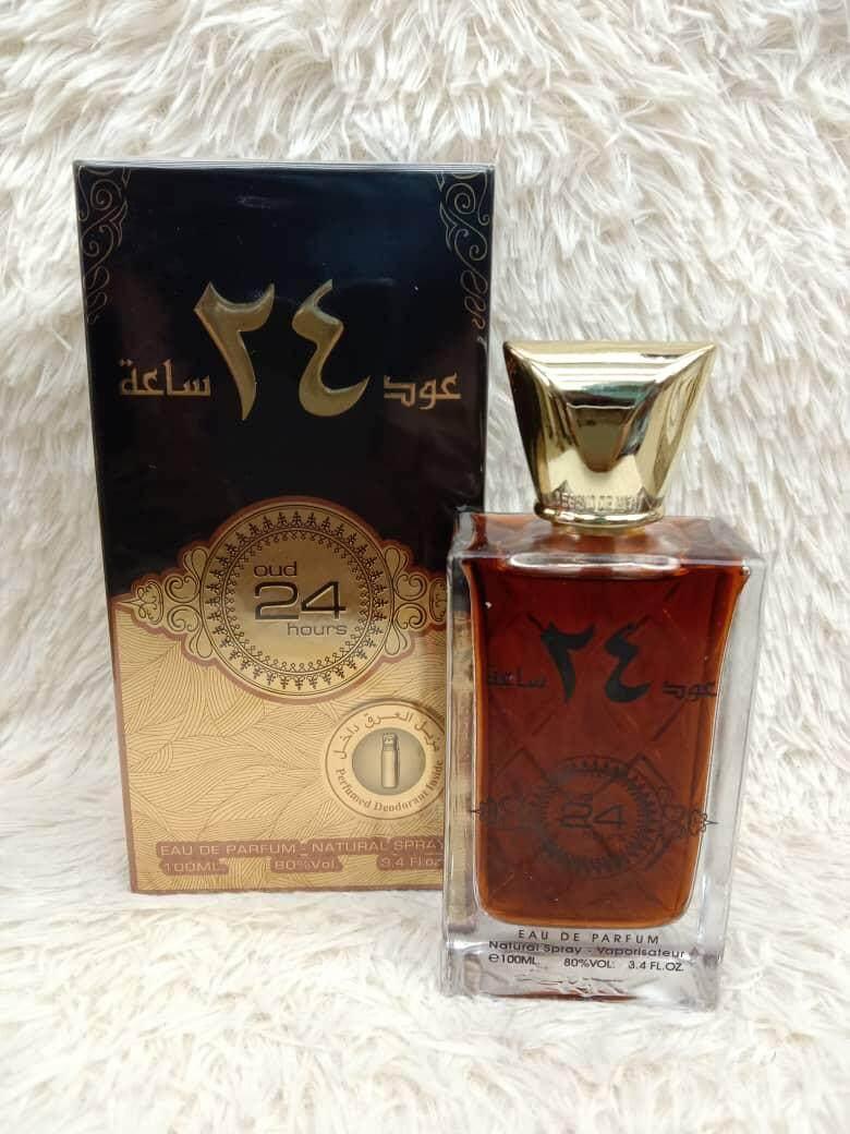 OUD 24 HOURS -ORIGINAL ARABIC PERFUME EDP