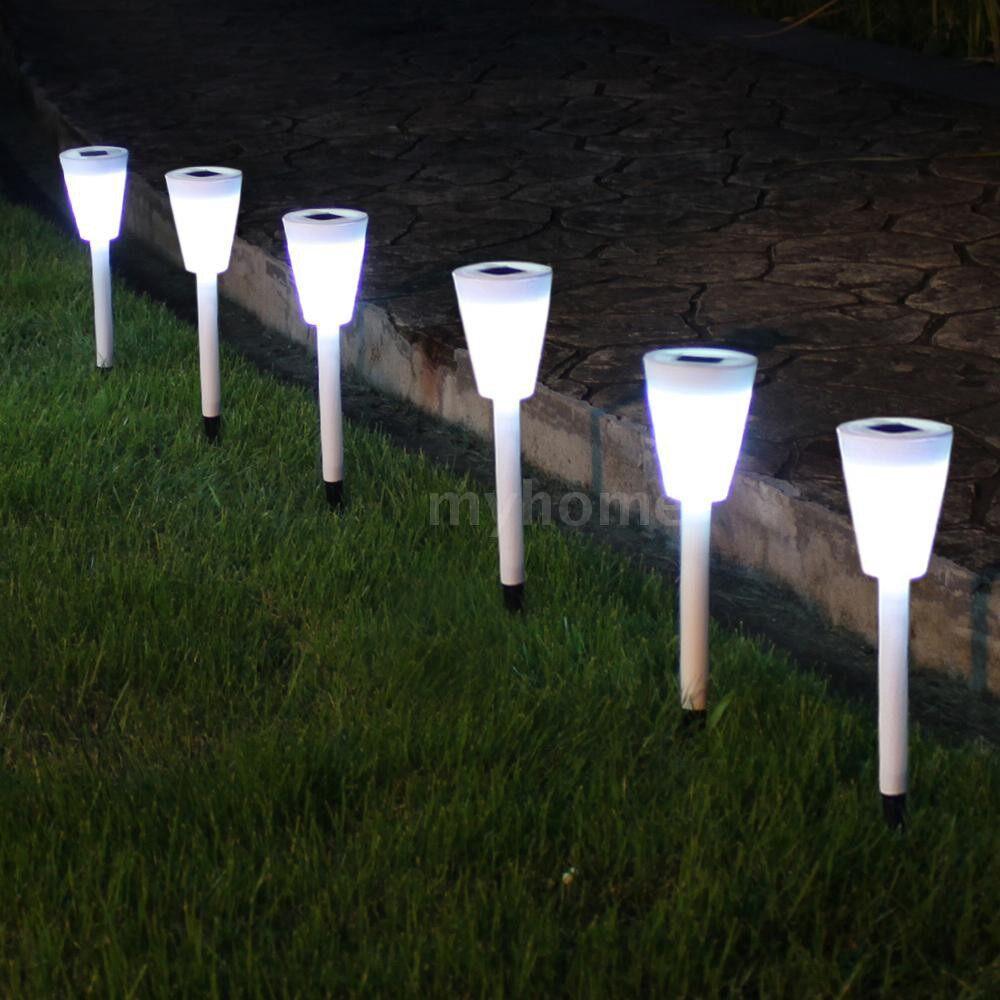 Outdoor Lighting - 3 PIECE(s) Solar Lawn Lamp Solar Garden Pathway Lights for Lantern Decoration Outdoor Light