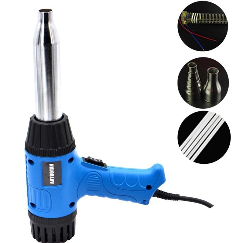 DIY Tools - PT700C 700W Heat Plastic Welding Torch PP PVC Welding Thermal Duct Welding Power - Home Improvement