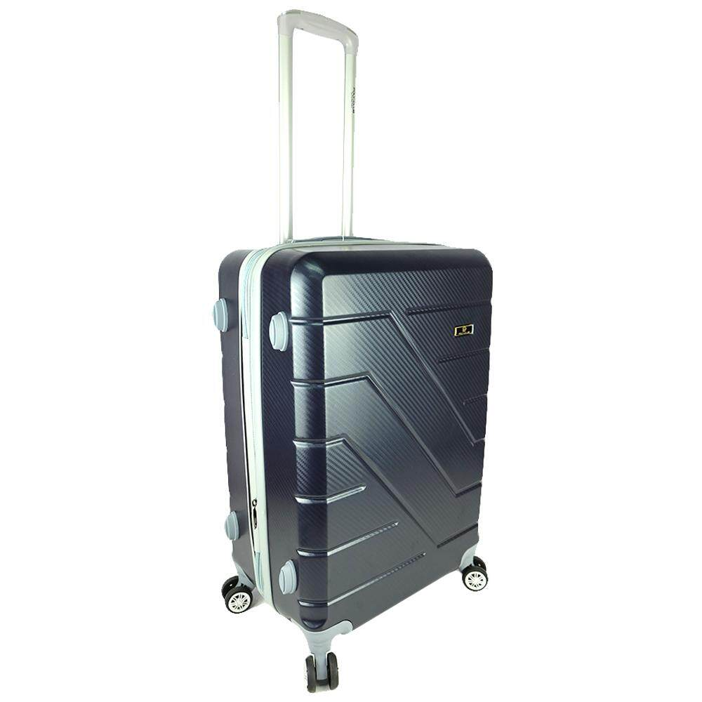 Poly-Club BA1987 28inch 4W ABS Hard Case Luggage with Anti-Theft Zipper