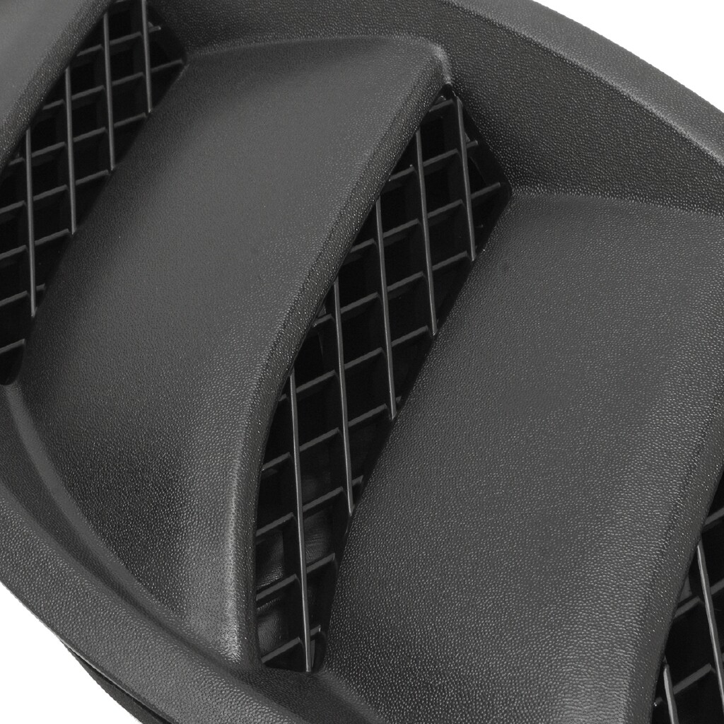 Engine Parts - Pair Hood Louvers Engine Inlet Vents Cover 10th For Jeep Wrangler JK 07-16 - Car Replacement