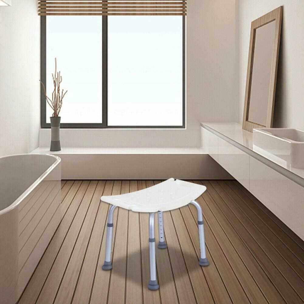 Elderly Bath Tub Shower Chair Pregnant Woman Bench Bathroom Stool Seat Bathhouse Stool Elderly Pregnant Women Supplies (Standard)