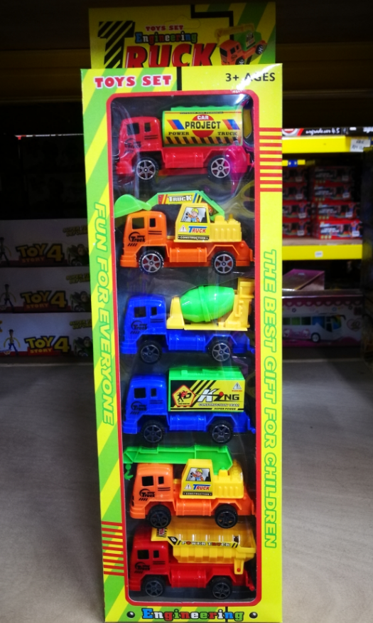 Kids Toy - Truck Series Mini Model Vehicles Car baby toys