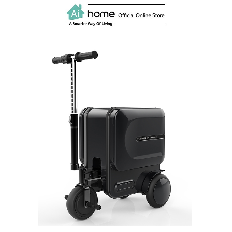 AIRWHEEL SE3 Smart + Riding Suitcase [ Smart Travel ] (Black) with 1 Year Malaysia Warranty [ Ai Home ] AIRWHEEL SE3 Suitcase