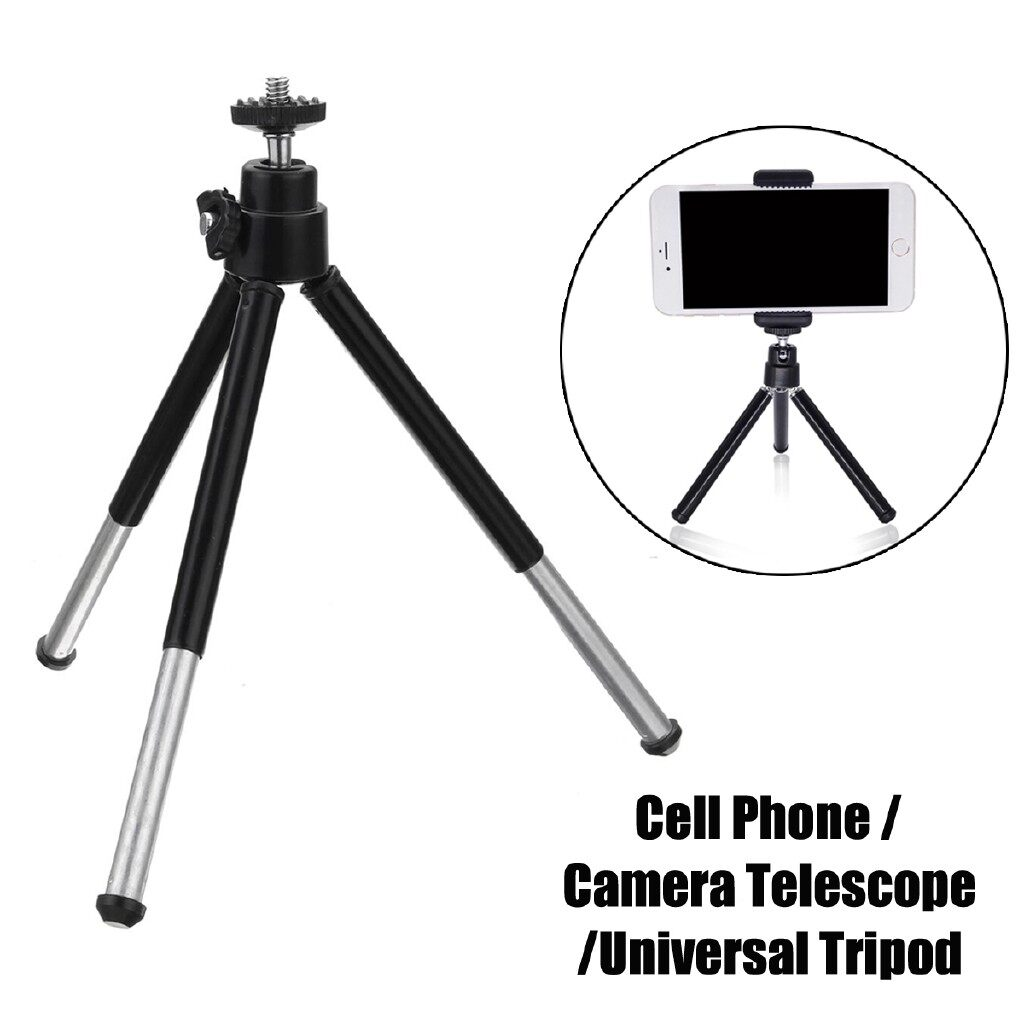 Tripods and Monopods - Universal Aluminum Scalable Tripod Stand Cell Phone Camera Telescope Holder - Camera Accessories