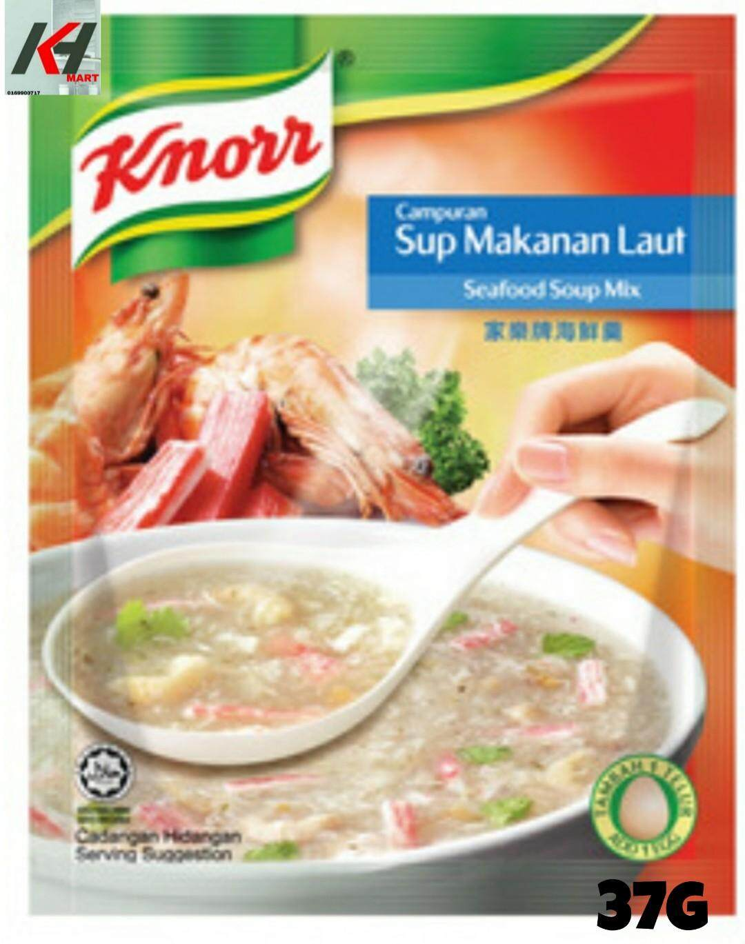 KNORR SOUP SEAFOOD 37G READY STOCK
