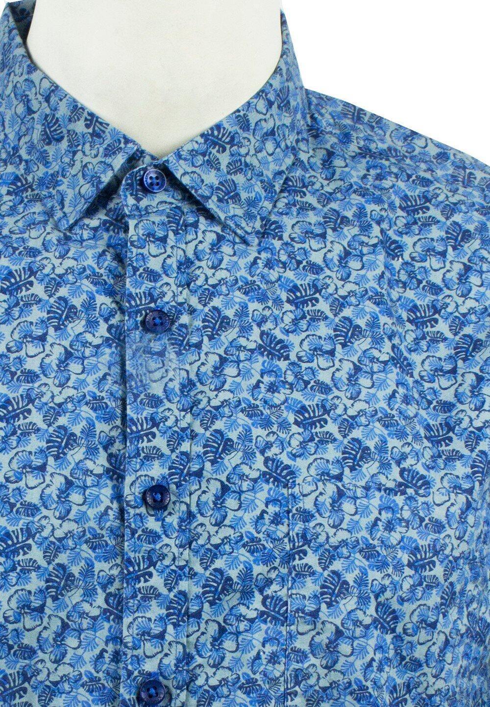 Men's Printed Short Sleeve Shirt 884