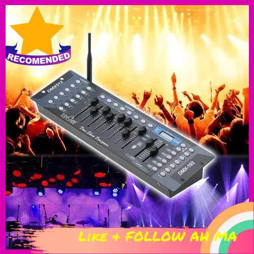 Best Selling Tomshine 192 Channels Stage Light DMX512 Wireless Controller Console with Transmitter Party DJ Disco Operator Equipment