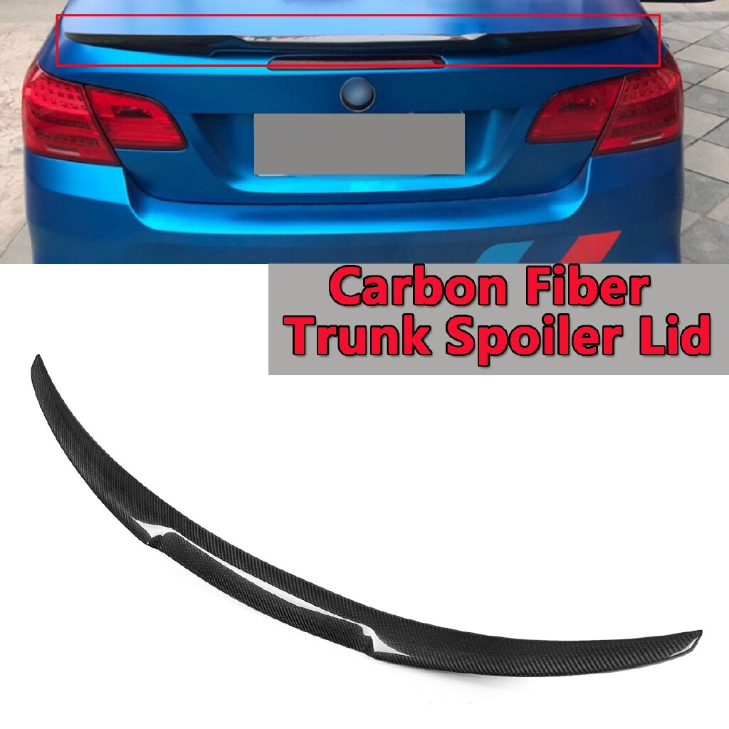 Engine Parts - REAL Carbon Fiber Rear Trunk Spoiler Wing For 2016- BMW F87 M2 2Dr Coupe - Car Replacement