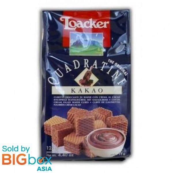 Loacker Quadratini Sandwich 125g - Kakao