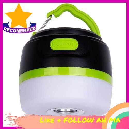 Best Selling Rechargeable LED Camping Lantern Portable USB Camping Tent Light Power Bank 5200mAh 3 in 1 Design IP65 waterproof Magnet Base 5 Light Modes - Survival Kit for Emergency Hurricane Power Outage (Standard)