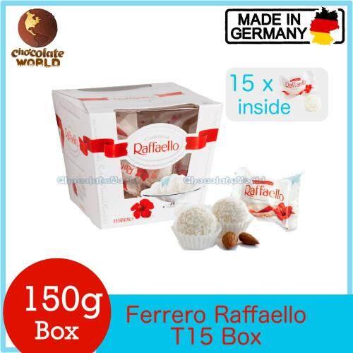 Ferrero Raffaello 15T 150g (Made in Italy)