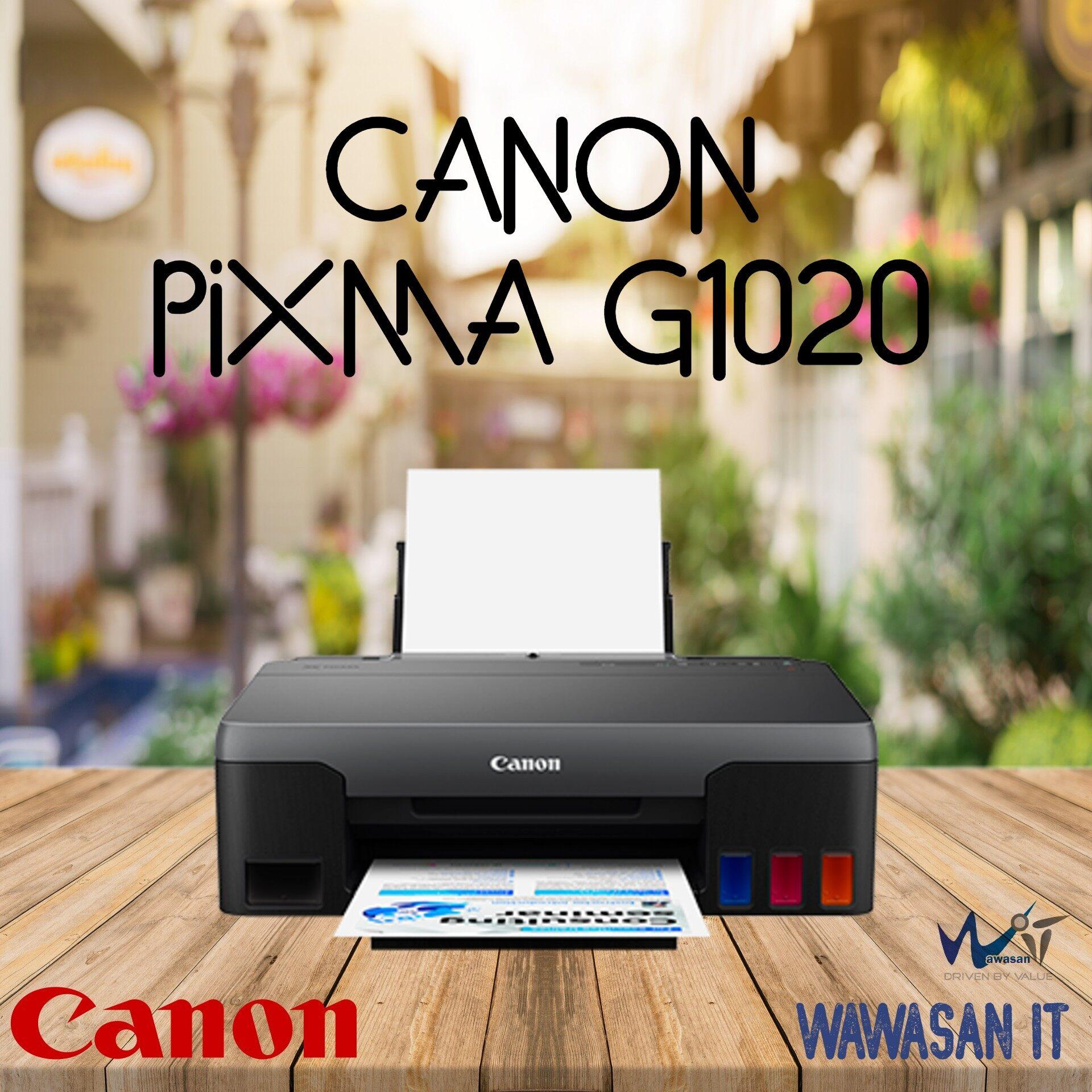CANON PIXMA G1020 Refillable Ink Tank Printer for High Volume Printing