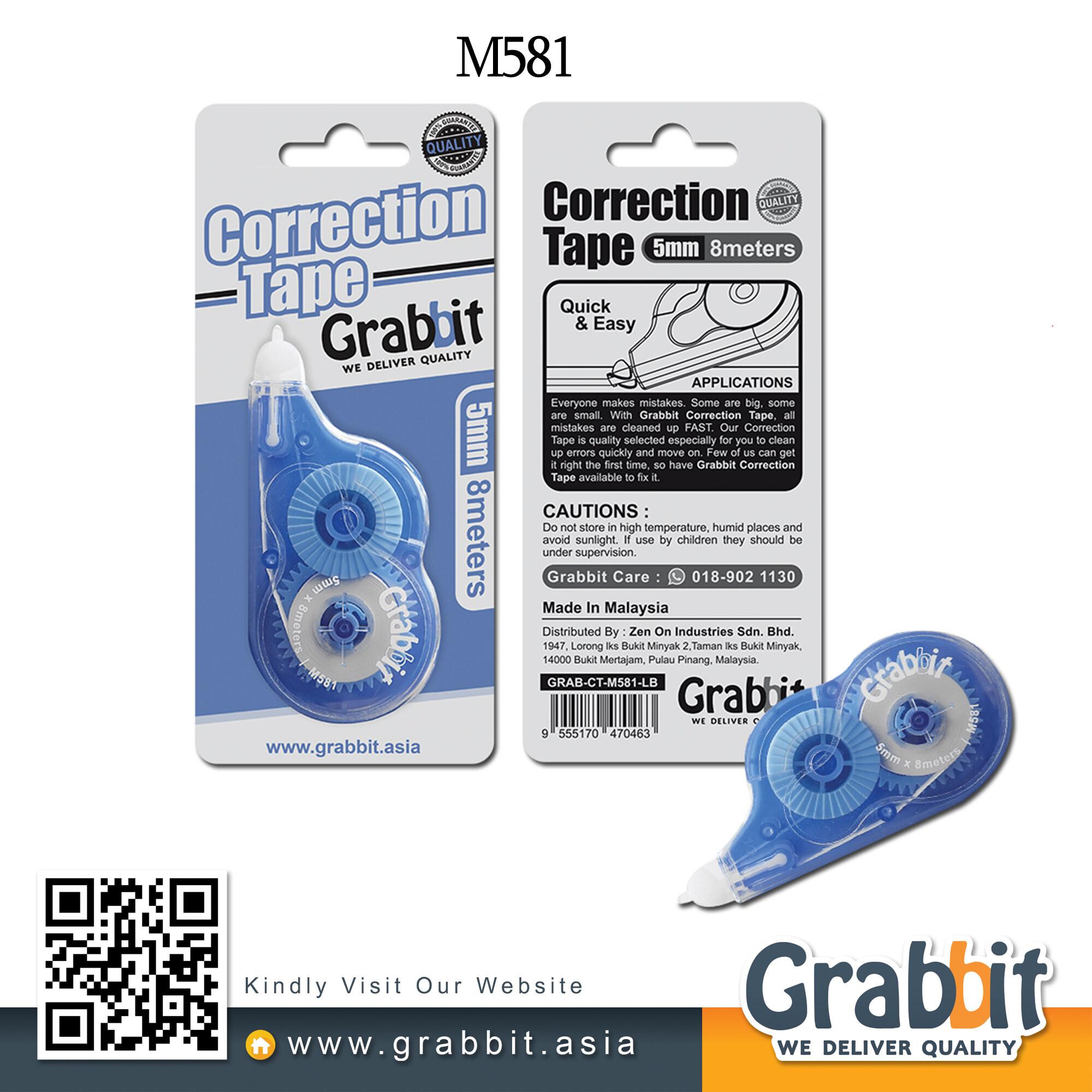 GRABBIT CORRECTION TAPE 5MM*8MM