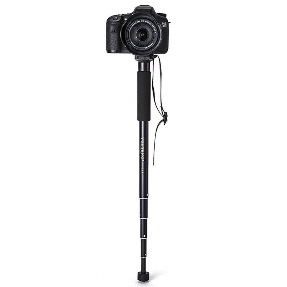 Tripods and Monopods - YT-218 Scalable 5-Series Aluminum Monopod for Canon Nikon Pentax for Sony A7 A7R A7S DSLR DV - Camera Accessories