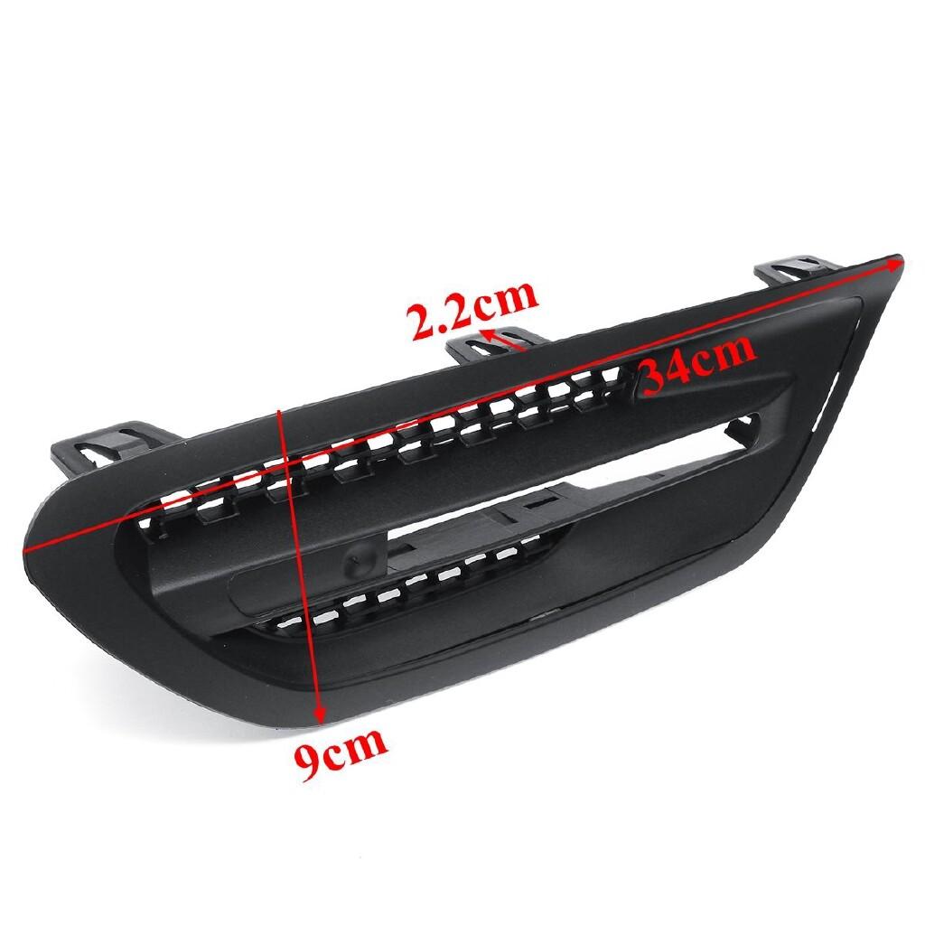 Automotive Tools & Equipment - Side Air Flow Vent Fender Grilles Grill For BMW F10/F11 Sedan 11-16 Matte Black - Car Replacement Parts