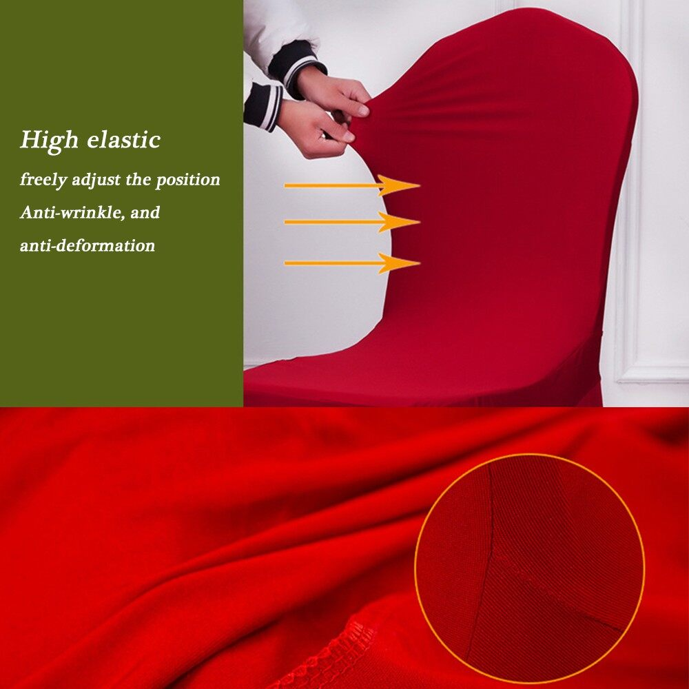 Home Decor - Universal Removable Washable Elastic Cloth Stretch Chair Cover Slipcover 21 Colo - 21 / 20 / 19 / 18 / 17 / 16 / 15 / 14 / 13 / 12 / 11 / 10 / 9 / 8 / 7 / 6 / 5 / 4 / 3 / 2