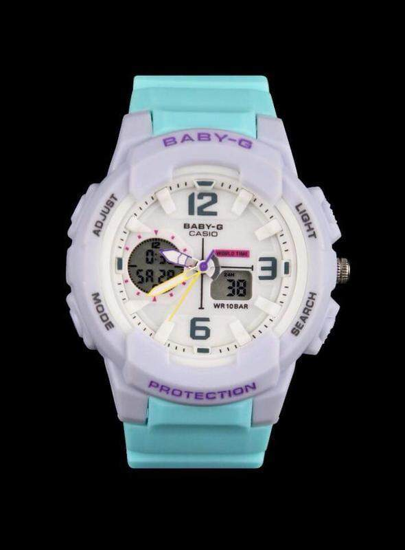 SPECIAL PROMOTION NEW SPORTS BABY DUAL TIME DISPLAY FASHION WATCH FOR WOMEN HIGH DISSCOUNT