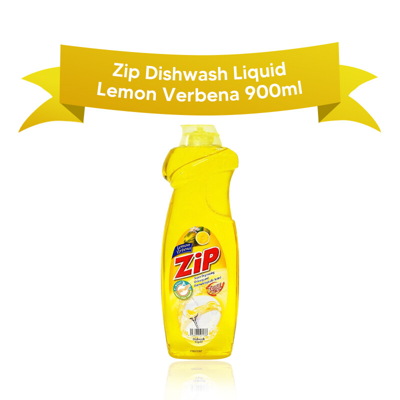 Zip Dishwash Liquid 900ml LEMON VERBENA