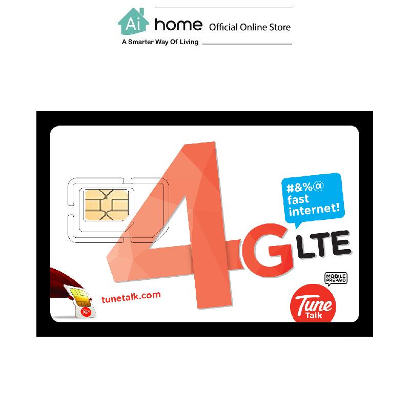 TuneTalk 4G LTE Sim Card Number (Traveller)