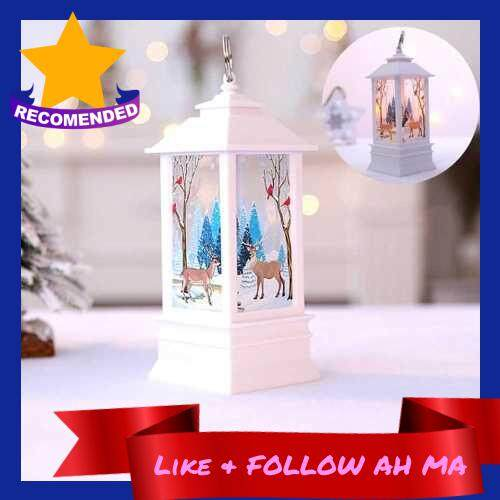 Best Selling Christmas simulation fl-ame lamp desktop decoration led lights scene layout portable small oil lamp decoration supplies (Alh2278027)