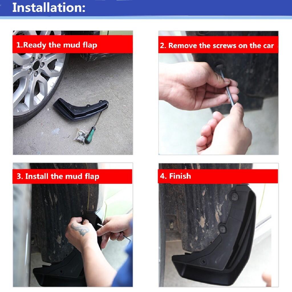 DIY Tools - SPLASH GUARDS MUD FLAPS FIT FOR 08-11 MERCEDES - Home Improvement