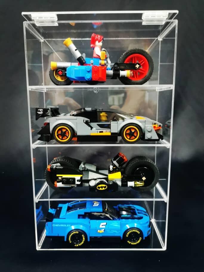 Acrylic Lego Speed Champion / Minifigure Display Case