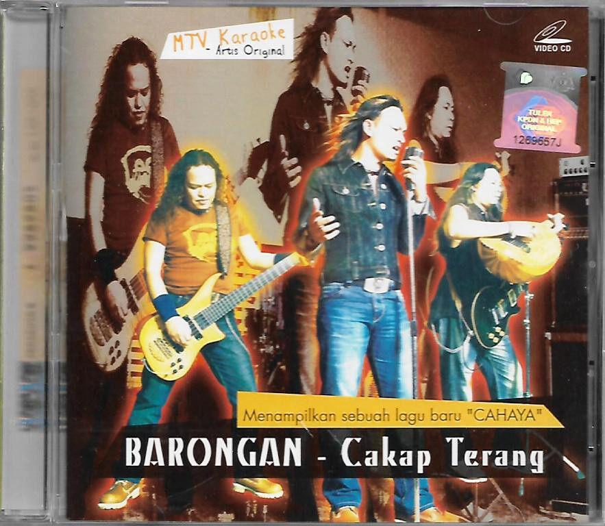 Barongan - Cakap Terang Original MTV Karaoke VCD