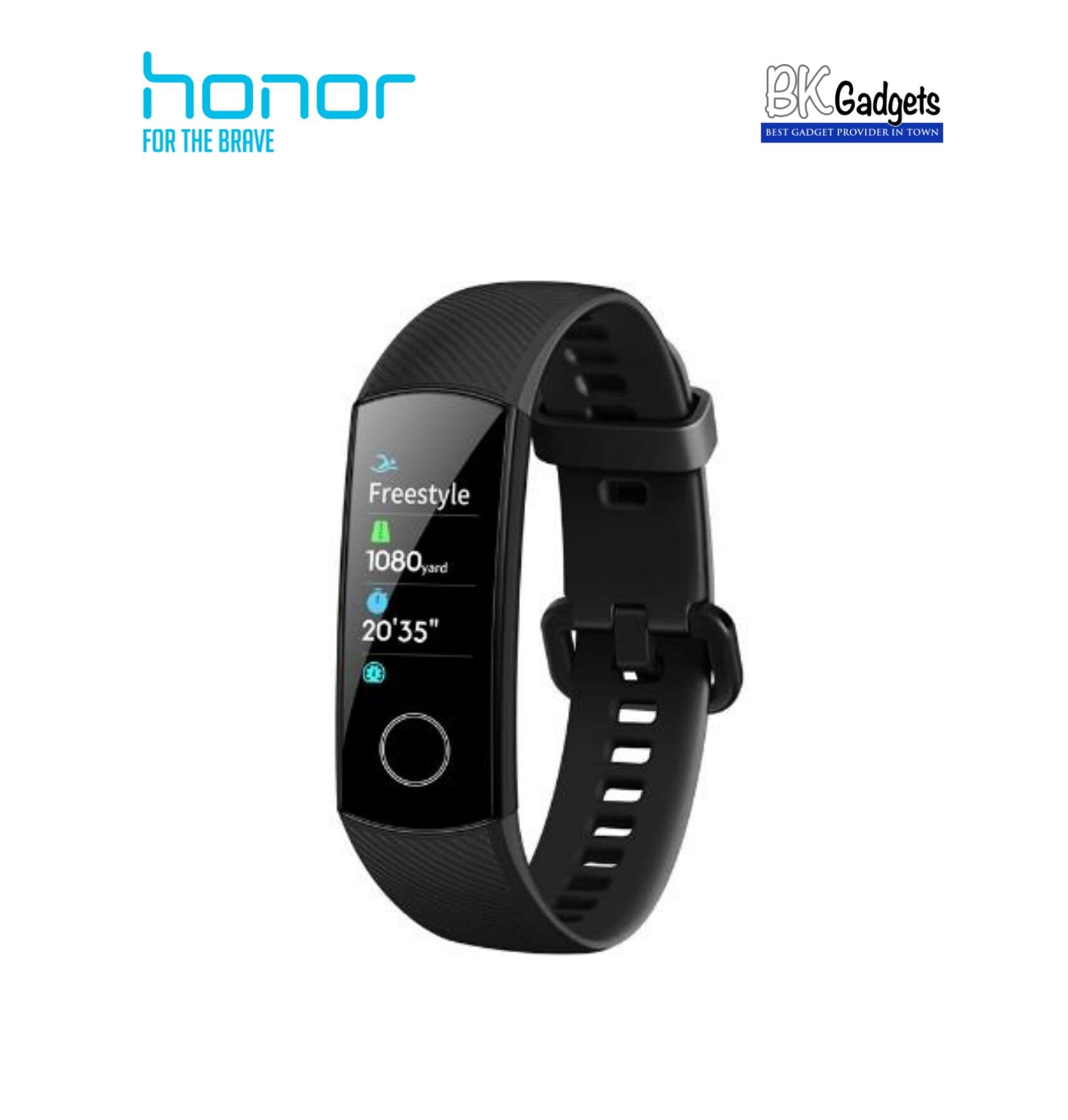 HONOR BAND 5I Color Screen Smart Wristband Wearable Fitness Tracker [ Meteorite Black ]