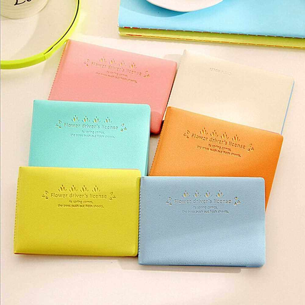 Lovely Fresh Candy Color Cards Storage Bag (Green)